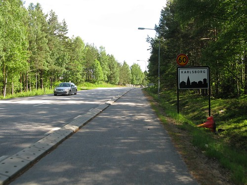 Norra Vägen (road 49), Karlsborg 2010