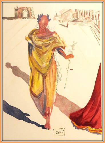 """""""L'art d'aimer d'Ovide"""" De Salvador à Dali, une exposition à Liège Guillemins, Liège, Belgium"""
