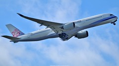 China Airlines Airbus A350-900 F-WZFF (B-18902) (Planes Spotter And Aviation Photography By DoubleD) Tags: avion avions planes aircraft aeronef jet liners commercial passagers passengers aero aeronautique aeronautical fly flight dcollage takeoff sky engines winglets airbus a350 a350xwb test airlines china chine canon photo eos spotters spotting airport aeroport toulouse france blagnac tls lfbo deuxime second didier durieux photographe photography pictures