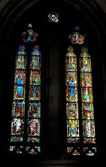 Regensburg-Ratisbona (Alemania). Catedral de San Pedro. Vidriera (santi abella) Tags: ratisbona regensburg baviera bayern alemania germany vidrieras