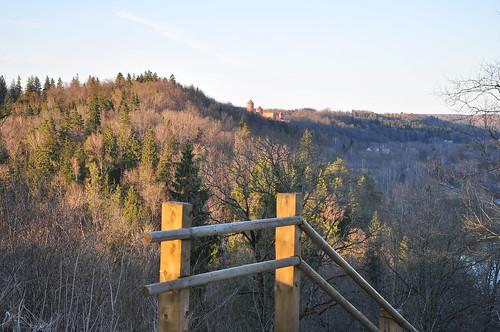 View to Turaida castle