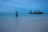 The last sunrise~ Boracay (~mimo~) Tags: boracay holiday island mimokhairphotographyphotographystreetphotographyyunnan philippines sunrise travel selfportrait longexposure ocean minimal blur selfie