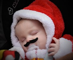 Sleeping Little Santa