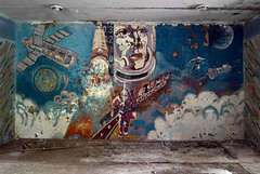 3..2..1..0 (I g o r ь) Tags: abandoned decay decayed rust urban forgotten lostplaces urbanexploration ussr cccp sovietunion murals mosaic sonya7 ilce7 communism cosmonaut space