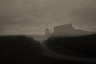 ghosts echo across the landscape