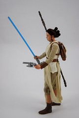 Star Wars Elite Series Rey Premium Action Figure - Disney Store Purchase - Deboxed - Freestanding - Full Right Side View (drj1828) Tags: starwars theforceawakens rey figure actionfigure purchase disneystore eliteseries premium posable 10inch deboxed freestanding