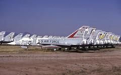 F-106A   90034 (TF102A) Tags: aviation aircraft kodachrome f106 convair deltadart amarc amarg masdc boneyard
