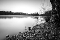 sunrise (ARealStone) Tags: nikon d7100 long exposure nd1000 landscape salzburg leopoldskroner weiher bw 1024mm nikkor