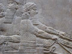 Charioteer (Aidan McRae Thomson) Tags: nineveh relief britishmuseum london assyrian sculpture mesopotamia ancient