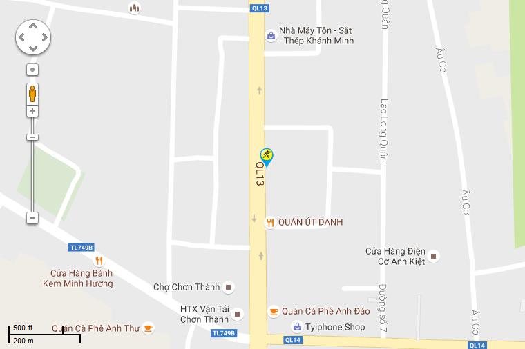 Khai trương siêu thị Điện máy XANH Chơn Thành, Bình Phước