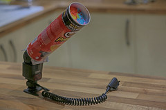 Week forty Six - DIY snoot (Damien Walmsley) Tags: snoot diy pringle straws flash tube