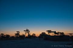 Sunset - Elephant Sands Botswana