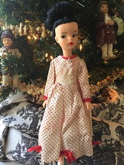 Mary Poppins by Reliable of Canada (Foxy Belle) Tags: mary poppins doll reliable canada tammy dark hair vintage red white polkadots 1960s canadian