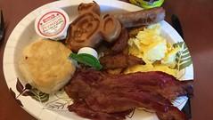 Florida 2016 (Elysia in Wonderland) Tags: disney world orlando florida holiday 2016 elysia saratoga springs resort hotel artists palette bacon eggs scrambled mickey waffle biscuit sausage syrup potatoes wedges