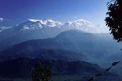 Himalaya Melotron View (Hubert Streng) Tags: pokhara sarangkot serene esoteric magic surreal himalaya