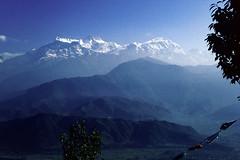 Himalaya Melotron View (Hubert Streng) Tags: pokhara sarangkot serene esoteric magic surreal himalaya