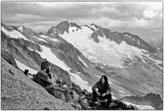 View from the dining room 1977 (Fogle Images) Tags: portrait fogle gropp landscape bivouac sahalepk bostonpk alpineclimbing forbiddentotormenttraverse northcascades wa
