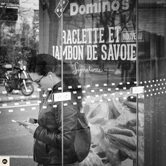 21271116 (photo & life) Tags: paris france europe jfl ville city street streetphotography photography photolife impasseflorimont square squareformat squarephotography humanistphotography woman lady girl busstop fujifilm fujinon fujinonxf35mmf14r fujifilmxpro2 blackandwhite noiretblanc