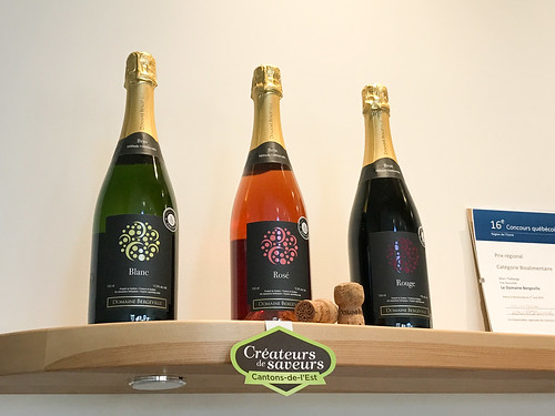 White, Rosé and Red sparkling wines at Domaine Bergeville