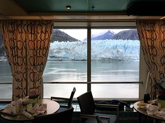 Glacier Bay NP ~ Margerie Glacier (karma (Karen)) Tags: glacierbaynp alaska usparks bays margerieglacier glaciers cruising windows viewbeyond hww iphone