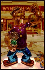 TheBest (VegasBnR) Tags: nikon nevada popeye oncore lasvegas vegas vegasbnr art statue city indoor wynn colorful gimp strip challengegamewinner