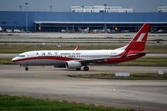 Shanghai Airlines B-6993 (Howard_Pulling) Tags: shanghai pudong airport pvg china chinese aircraft howardpulling