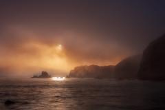 niebla Pendueles II (Daniel Pastor 70) Tags: paisaje amanecer niebla mar asturias pendueles espaa sea longexposure fog dawn