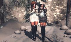 Snowing!!!! (Alexa.sorex) Tags: accesory appliers maitreya lara nd reelposes fiore letre littlebones bodymesh headmesh hairmesh skin sexy sensual winter snow catwa