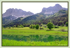 """ Posie de l ' eau..."" (jeanmical) Tags: mountain france nature montagne l"
