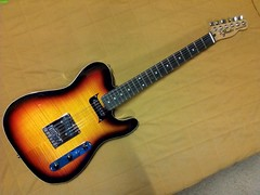 Tele Custom 1b (LoxPix) Tags: kent bass guitar workinprogress rick mandolin fender beatle crown custom gibson squire hofner epiphone fernandes teisco bowhunter