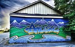Graffiti, West Vancouver (MirandaBar) Tags: street canada art vancouver graffiti bc cityscapes insidevancouver