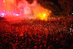 Crowd @ EXIT 2013 (Exit Festival) Tags: summer music public festival lights audience serbia crowd exit fest fortress novisad petrovaradin exitfestival 2013 tvrdjava lastfm:event=3460682