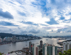 Blue Sky and White Clouds (Keith Mulcahy) Tags: sky clouds hongkong skies kowloon devilspeak victoriaharbour longexposures leiyuemun canon5dmk3 cloudsstormssunsetssunrises keithmulcahy blackcygnusphotography ppa7a0 ppd56c