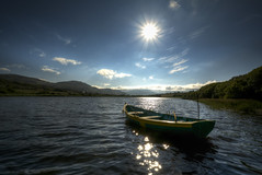 Glenties Ireland (Gareth Wray Photography - Thanks = 6 Million Hits) Tags: county blue ireland summer vacation sky irish sun lake holiday green tourism nature water field grass lens landscape photography star pier countryside boat dock nikon europe lough waves ship photographer angle jetty horizon wide scenic sunny visit tourist fox hd ripples nikkor scape gareth hdr donegal wray glenties ardara lakescape strabane tonemapped 1024mm d5200 hdfox