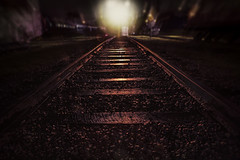 Wet Tracks at Midnight