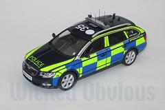 1/43 Cambridgeshire Constabulary Skoda Superb RPU (wicked_obvious) Tags: model sticker decal transfer diecast code3
