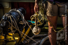 Heaving Line at Ready (Dan Kasberger) Tags: tallships hdr lynx monkeyfist heavingline