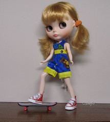 Sophie and her skate