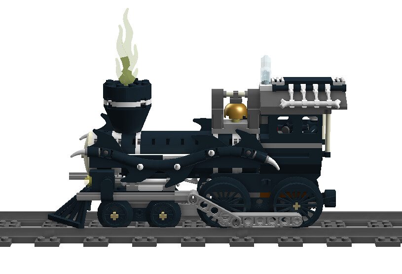 halloween train locomotive side view tf twitch tags santa christmas halloween train - Lego Halloween Train
