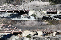 Before and After (wilco737) Tags: bridge greenland warming global destroy grnland kangerlussuaq wilco737