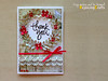 Thank You Card (RejoicingCrafts) Tags: red thanks cards martha handmade ribbon punch