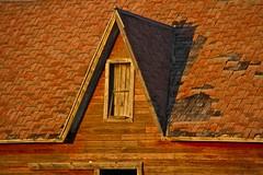 (Astro Cat) Tags: cars abandoned minnesota vintage buildings north churches sunsets catfish farms trucks prairie tractors dakota drayton harvesting