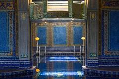 Blue swimming pool (Mysophie08) Tags: california unitedstatesofamerica hearstcastle thumbsup lowcontrast longshot infocus gamewinner mediumquality oneface thechallengefactory herowinner