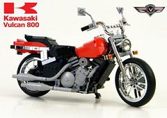 2004 kawasaki vulcan 800 (LegoMarat) Tags: lego technic chrome motorcycle vulcan kawasaki modelteam moc vn800