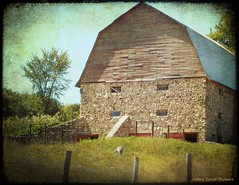 Stone Barn (Passion4Nature) Tags: barn rural stones michigan country textures upnorth ie antrimcounty memoriesbook potatorocks magicunicornverybest textureinfinitebook