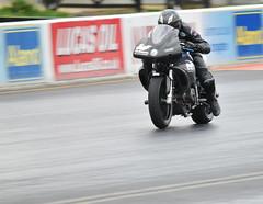379 (Fast an' Bulbous) Tags: santa autumn england pits bike race drag pod nikon october track power gimp fast sunny strip motorsport santapod qualifying d300s extremebikeweekend