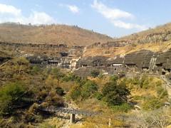 Ajanta Caves: View from outside Cave 2, Ajanta, Maharashtra (ddasedEn) Tags: maharashtra ajanta aurangabad ajantacaves