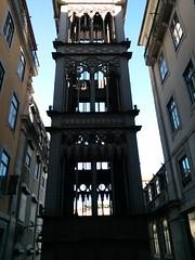 Elevador de Santa Justa (pburka) Tags: portugal publictransit lift lisbon elevator flickrandroidapp:filter=none