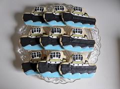 Tug Boat Cookies