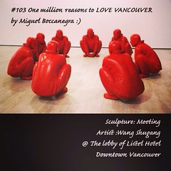 | no.103 | | Meeting | (onemillionreasonstolovevancouver) Tags: world city red people tourism home promotion vancouver cool realestate profile today buddhas l4l vancity downtownvancouver metrovancouver onemillion cityofvancouver vancouverite vancouvercity vancouvertourism vancouverrealestate vanone awesomevancouver thelistelhotel instaphoto instagood instafollow uploaded:by=flickrmobile flickriosapp:filter=nofilter miguelboccanegra thegreatervancouverarea redbuddhas